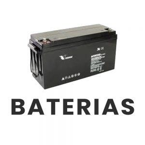 batería para panel solar
