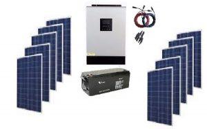 kit solar off grid
