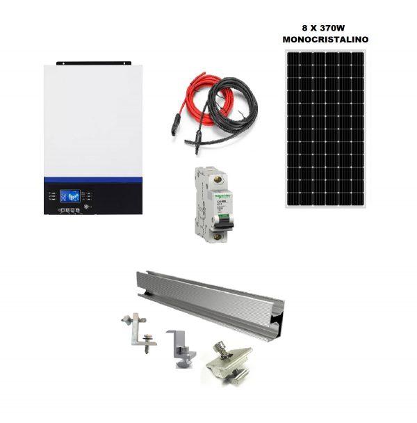 batería solar