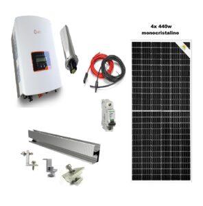 Batería panel solar
